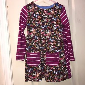 Girls tunic purple multi color